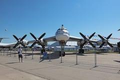 Tupolev Tu-95 Image libre de droits