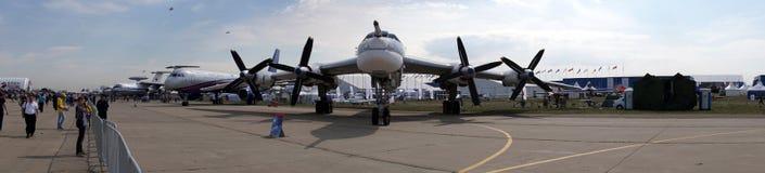 Tupolev Tu-95 obrazy royalty free
