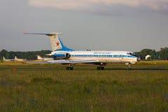 Tupolev Tu-134AK start fotografia royalty free