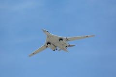 Tupolev Tu-160 (den vita svanen) Royaltyfri Foto