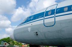 Tupolev Tu-154 fotografia stock