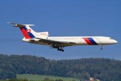 Tupolev TU-154M lizenzfreies stockbild