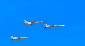 3 Tupolev Tu-22M3 (Backfire) Stock Photography