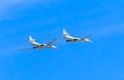 2 Tupolev Tu-22M3 (malogro) Foto de Stock Royalty Free