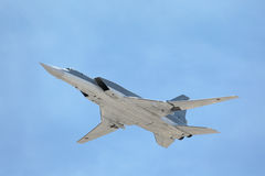 Tupolev Tu-22M3 (Obraca się przeciwko) Zdjęcia Royalty Free