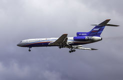 Tupolev Tu-154M - Russland - Luftwaffe Lizenzfreies Stockbild