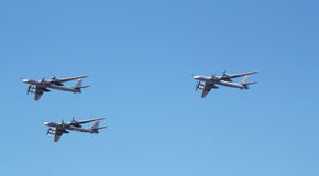 Tupolev Tu-95 Stock Photography