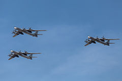 Tupolev Tu-95 Royalty Free Stock Image