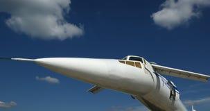 Tupolev Turkije-144 (de naam van de NAVO: Lader) Stock Fotografie