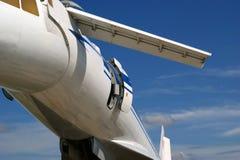 Tupolev Turkije-144 (de naam van de NAVO: Lader) Stock Foto's