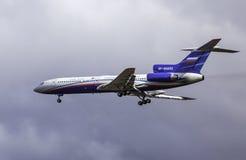 Tupolev Turkije-154M - Rusland - Luchtmacht Royalty-vrije Stock Afbeelding