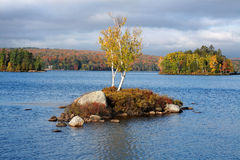 Tupper Lake In Autumn Royalty Free Stock Photos