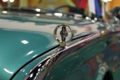 Tuquoise Edsel细节 免版税库存图片