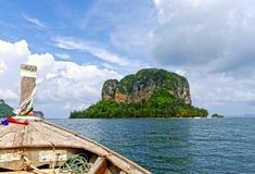 Tur av PhiPhi och Krabi öar thailand Arkivfoto