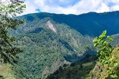 Tur för Baguio Filippinernaväg Royaltyfria Bilder