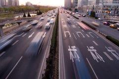 tur för biltrafik Fotografering för Bildbyråer