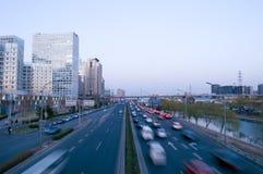 tur för biltrafik Arkivfoto