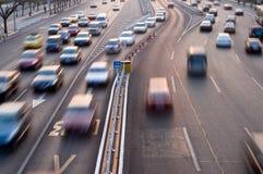 tur för biltrafik Arkivbild