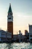 Tur på Grand Canal i Venedig Arkivbild