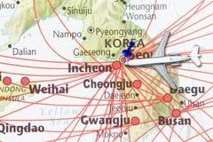 Tur till det Korea begreppet Arkivbild