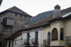 Tur till en av de mest härliga byarna i Spanien arkivfoto