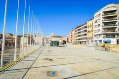 Tur till staden av Tarragona Spanien arkivfoto