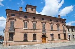 Tura Palace. Comacchio. Emilia-Romagna. Italy. Stock Photography