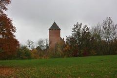 Turaida,锡古尔达城堡,拉脱维亚共和国 免版税库存照片
