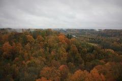 Turaida,锡古尔达城堡,拉脱维亚共和国 库存图片