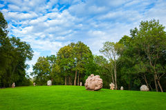 Turaida park, Latvia Royalty Free Stock Photos