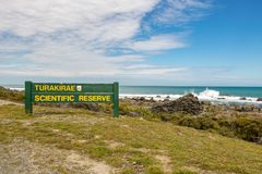 Turakirae Scientific Reserve Stock Images