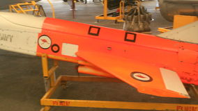 Turana 2. CALOUNDRA, AUSTRALIA - December 4 2015: The GAF Turana was a target drone produced by the Australian Government Air Factory in the 1970s. It was stock video footage