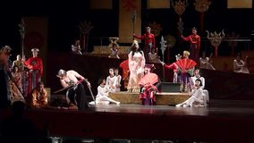 Turandot video d archivio