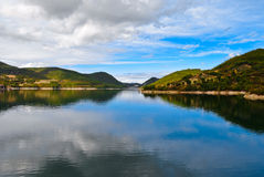 湖turano 免版税图库摄影