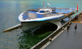 Turanor planetsolar yacht Stock Images
