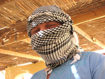 Turban. Man in the traditional african clothing accessory turban Stock Photos