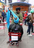 Turban Day NYC. Turban Day in Times Square in NYC Royalty Free Stock Image