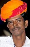 Turban man Stock Photo
