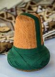 Turbante da forma do otomano para o sufi imagem de stock royalty free