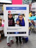 Turbanu dzień NYC zdjęcia royalty free