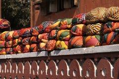turbany sprzedaży. Obrazy Royalty Free