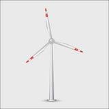 Turbibe de vent Image libre de droits