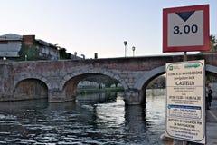 Turbigo milan lombardy italy Turbigo Milan, Lombardy, Italien 24 MARS 2019 E fotografering för bildbyråer