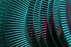 Turbin för ånga för maktgenerator under reparation, maskineri Royaltyfri Bild