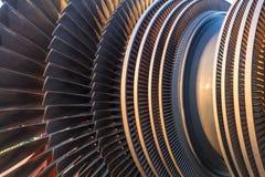 Turbin för lågt tryck Arkivfoton
