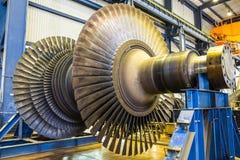 Turbin för lågt tryck Arkivfoto
