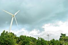 Turbina da linha central Fotos de Stock