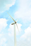 Turbina da linha central Imagem de Stock Royalty Free