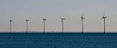 Turbina da potência Foto de Stock Royalty Free