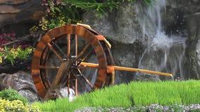 Turbina da roda de água. filme